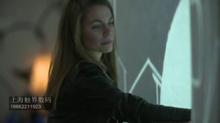 电子墨水墙手势互动3D立体体感互动投影屏幕墙地面墙面投影 展览馆