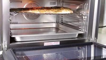 烤鱼这样做才好吃,一个蒸烤箱简单搞定!