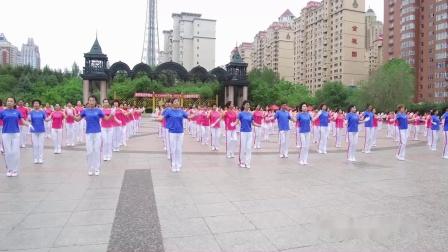 中国梦之队快乐之舞第十五套健身操哈尔滨培训展演