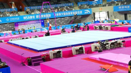 2019体操世界杯挑战赛肇庆站资格赛-女子高低杠、男子吊环