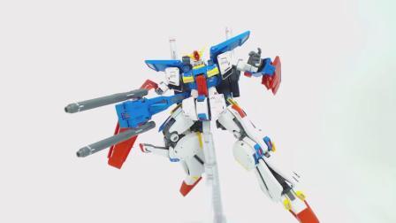 (黑暗转载)【BUILDESs TV】机动战士高达ZZ MG ZZ高达 卡版