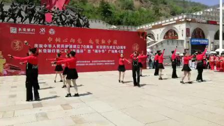 鸿之舞A2水兵舞 表演者:延安圣地水兵舞团 曲目:吉祥欢乐 领队:张海宁