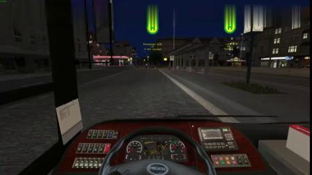 巴士模拟2---海格KLQ6108GE3-深夜飞车-驾驶海格客车前往火车站