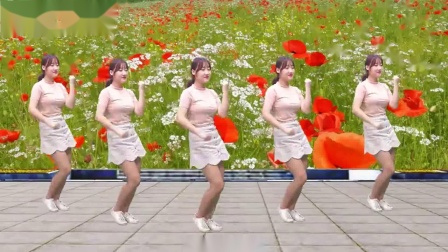 一首《黄梅戏》,广场舞简单易学,歌曲甜美动人,美女性感