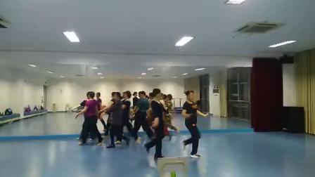 舞蹈:《辉煌》 排练花絮 网成林舞蹈视频
