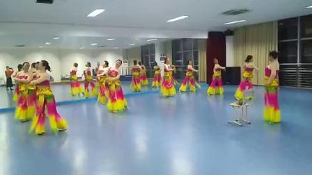 舞蹈《辉煌》 彩排花絮        网成林舞蹈视频