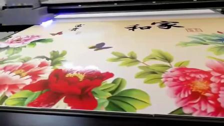 集成墙板3D背景墙uv打印机