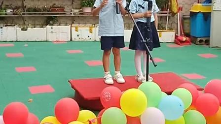 阳和经典国学幼儿园《少年中国说》李涵钰、李宇轩