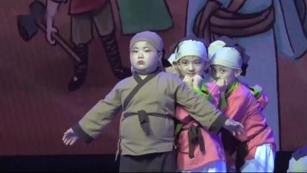 CCTV我爱你中华全民才艺盛典许昌万达360妙语语言艺术学校选送节目《愚公移山》