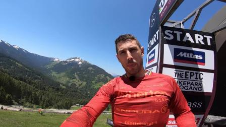 UCI Mountain Bike World Cup 2019 Gee Atherton's POV run – Leogang