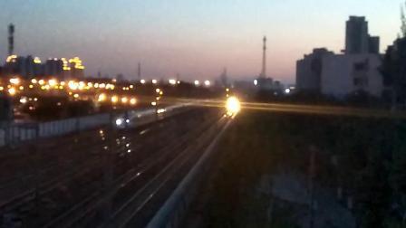 [京沪线北京南站站外]沈局沈段DF11G牵引Z157次 泰州-哈尔滨西 通过