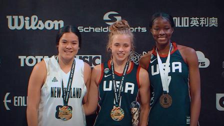 U18世界杯女篮决赛集锦—美国v新西兰