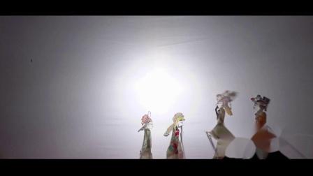 陕西弦板腔皮影戏视频资料——杨元帅征北(选场)(主唱刘景/刘文霞)