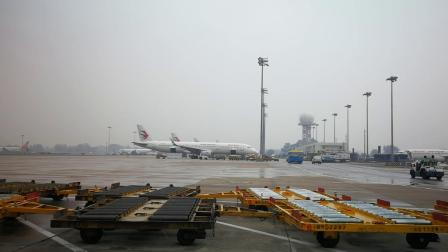 20190604在首都机场准备起飞