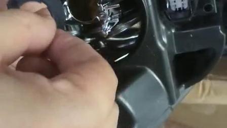 福克斯近光装LED灯L13卡座安装视频