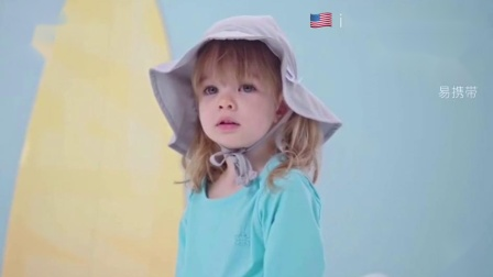 美国iplay防晒宽檐帽 儿童防晒帽