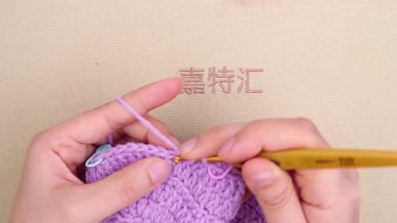 大象宝宝鞋毛线编织步骤