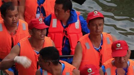 """湖南永兴县""""我们的节日·端午节""""西河龙舟赛及水上运动表演"""