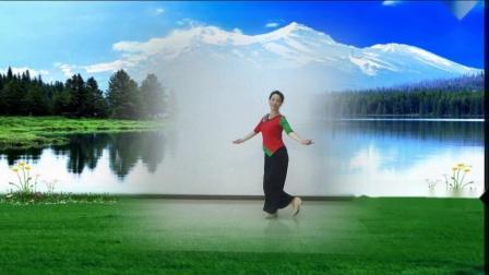 舞蹈《云朵上的羌寨》