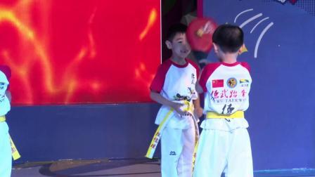 福清市大地艺术培训中心2019汇报演出——04跆拳小明星