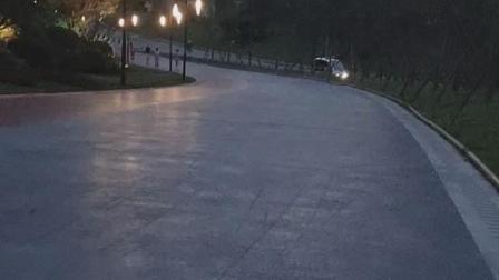 骑行重庆市梁平区双桂湖公园2(是同一傍晚的)