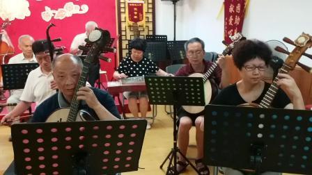 广东音乐《春风得意》沙园乐队。摄影英子