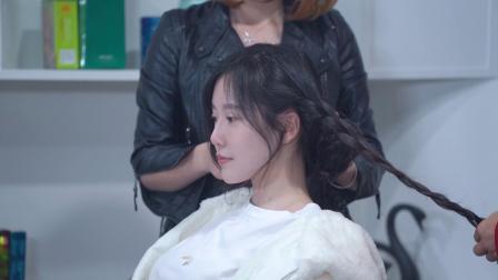 最新流行发型之甜美可爱学生妹发型裁剪