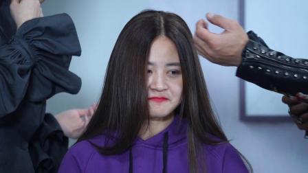 最新流行发型之女士职业发型裁剪