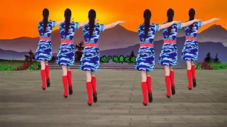 广场舞《歌在飞》简单32步性感舞蹈,2分钟就能轻松拿下!