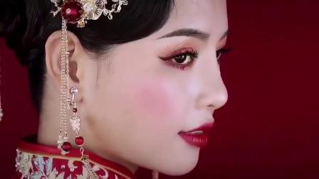 美丽分享,惠州化妆培训学校精英美妆刚刚完成的作品造型