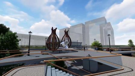 """鲜青松-""""稚然""""幼儿园建筑外环境自然体验设计"""