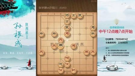 张学潮vs许银川:特大对局分解[201906012]第217局