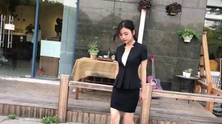 新款短袖女士西装套装OL时尚职业装女装套裙修身正装工作服套裤夏-tmall.com天猫(1)