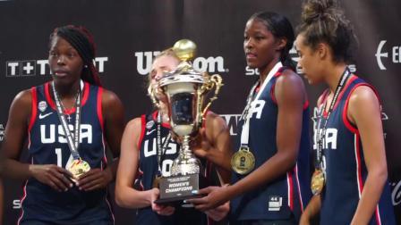 U18世界杯球队集锦—美国女篮