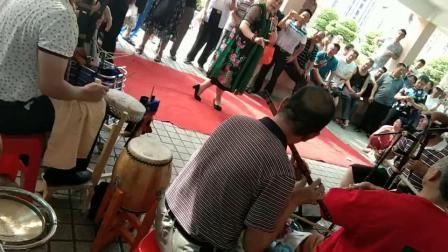 深圳《广场有戏》不穿鞋也要看边玉洁,沧海来客制作