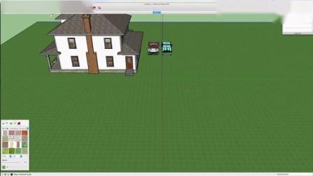 如何在SketchUp中建造一个温室1-_标清