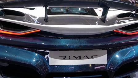 Rimac C Two 1,914 HP BEAST.  From 0 to 60 in 1.85 sec. Electric Hypercar at Gene