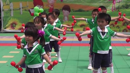 衡山双峰育苗幼儿园      18 《超级明星》哑玲操  育苗中班