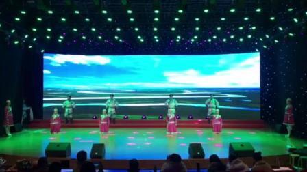 和硕县税务局新春舞蹈彩排