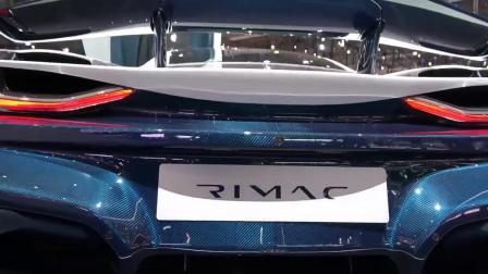 暴力电动超跑 Rimac Concept Two