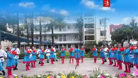 信阳职业技术学院枫叶舞蹈队《赞歌》