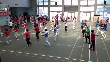 2019济南市老年体协柔力球培训班表演《点赞中国》2019-6-12