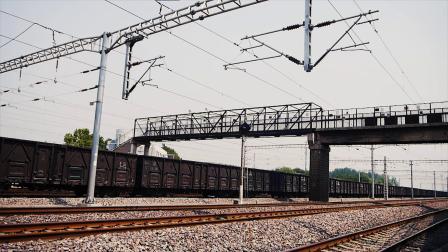Z69次 北京西-乌鲁木齐高速通过琉璃河站(列尾原色高能)