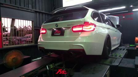 BMW 320i F31 B48 改完排气测试动力