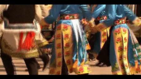 茂县2012年羌族萨朗及服装表演(4)