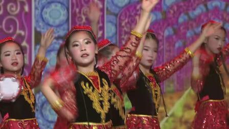 东辽县渭津镇少年宫雏鹰艺术培训中心舞蹈《舞起幸福鼓》