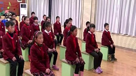 人音版小学五年级音乐下册第5课_京韵演唱我是中国人-周老师优质课视频(配课件教案)