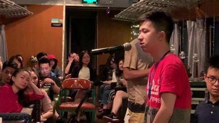 """美国""""百老汇""""宣传抵蓉 ,川师大张金鑫演唱音乐剧片断八"""