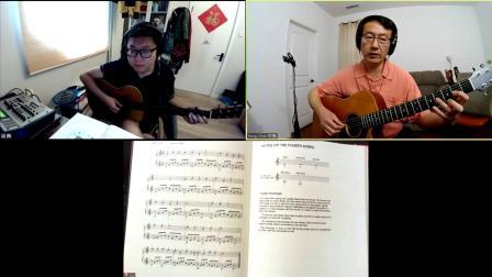 陈鹏吉他教学 基础课 听力练习 1-2 《夜晚的旋律》第116-B期