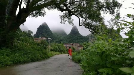 《初恋钟山》~微风细雨、绿野仙踪。钟山水墨画廊游记<2>